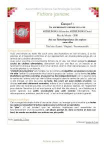 Catalogue sience Metisse pleine page Page 18